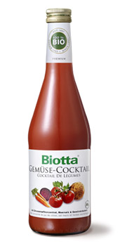 Biotta Organic Vegetable Juice