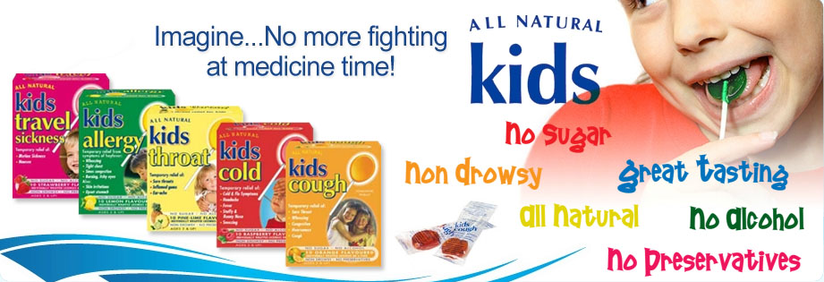 All Natural Kids Lollipop For Allergy