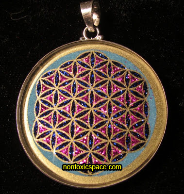 Sacred geometry pendants flower of life flower of life pendant aloadofball Gallery