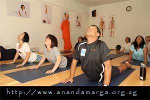 Ananda Marga Yoga Posture